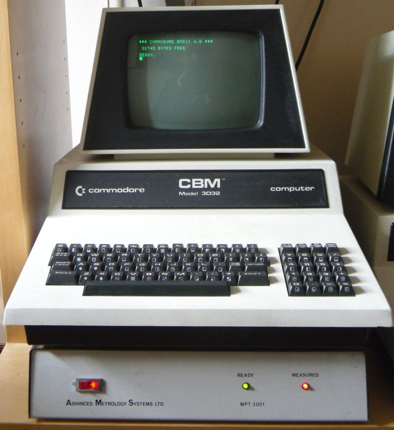 Vectorlight: Commodore PET 3032 Repair