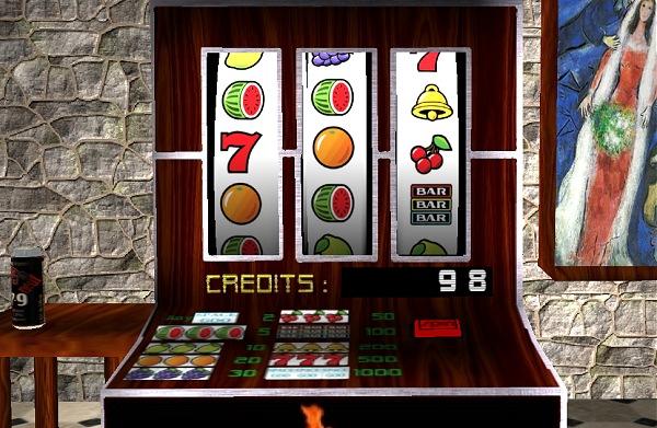 Html5 slot machine animation