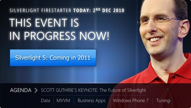 Silverlight Firestarter