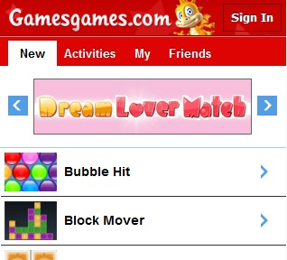 mobile game sites