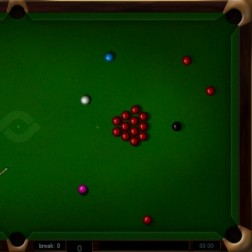 Web Snooker Screenshot 1
