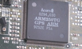 Acorn Archimedes A3020 ARM250 Overclock