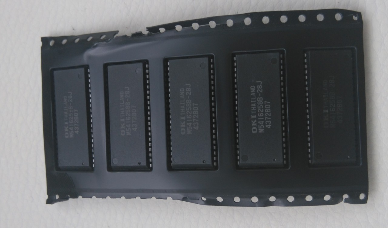 Some new M5416258B-28J 28ns RAM