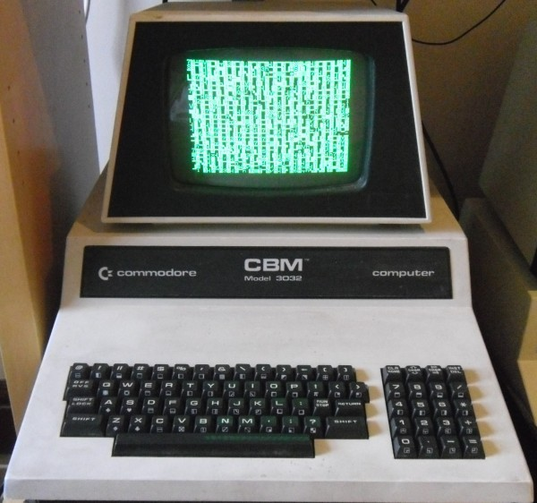 Commodore PET 3032 Not Working